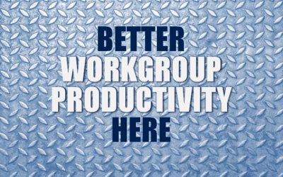 Better Workgroup Productivity – Here's How